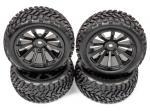 Комплект коліс Rally-X 76мм 1/10 (4шт)