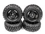 Комплект коліс Rock Crawler 96мм 1/10 (4шт)